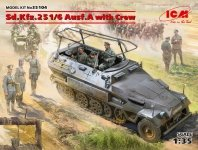 ICM 35104 Sd.Kfz.251/6 Ausf.A with Crew 1/35
