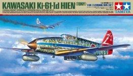 Tamiya 61115 Kawasaki Ki-61-Id Hien (Tony) 1/48