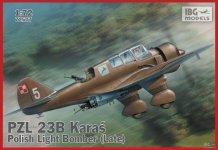 IBG 72507 PZL 23B Karaś Polish Light Bomber late (1:72)
