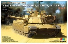 Rye Field Model 5004 U.S. Main Battle Tank M1A2 SEP Abrams TUSK I / TUSK II / M1A1 TUSK