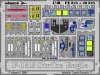Eduard FE225 F-15E 1:48 Monogram,Revell