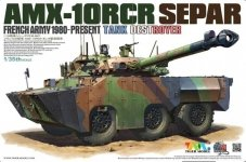 Tiger Model 4607 French Army 1980-Present AMX-10RCR Separ 1/35