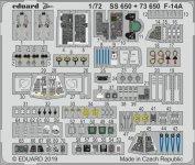 Eduard SS650 F-14A 1/72 FINE MOLDS