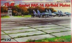 ICM 72214 Soviet PAG-14 Air-field Plates (1:72)