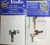 Yahu YMA4850 Mirage F.1 CT (Kitty Hawk / Italeri) 1:48