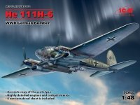 ICM 48262 He 111H-6, WWII German Bomber (1:48)