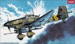 Academy 12450 Junkers JU-87 G Stuka (1:72) (1641)