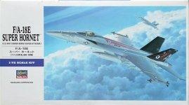Hasegawa E19 F/A-18E SUPER HORNET (1:72)