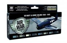 Vallejo 71157 US NAVY & USMC Colors WWII 1940-1945 8x17 ml.