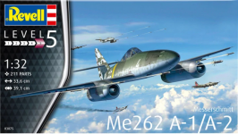 Revell 03875 Me262 A-1 Jetfighter 1/32