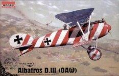 Roden 608 ALBATROS D.III (OAW) (1:32)