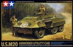 Tamiya 32556 U.S.M20 Armoured Utility Car (1:48)