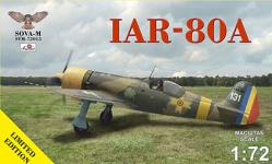 Sova 72013 IAR IAR-80A limited edition - 2 marking variants 1/72