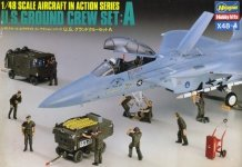 Hasegawa X48-4 US Ground Crew Set A (1:48)