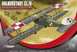 Mirage-Hobby 481403 HALBERSTADT CL.IV Wojna Polsko-Sowiecka / Siły okupacyjne RAF 1919 1/48