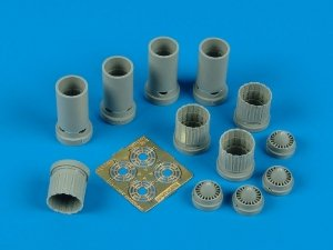 Aires 7171 B-58 Hustler exhaust nozzles 1/72 HASEGAWA