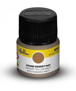 Heller 9093 093 Desert Yellow - Matt 12ml