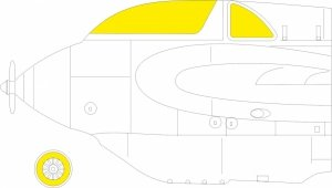 Eduard EX794 EX794 Me 163B GASPATCH MODELS 1/48