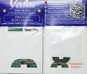 Yahu YMA7315 B-24J Liberator (Hasegawa/Eduard) 1/72