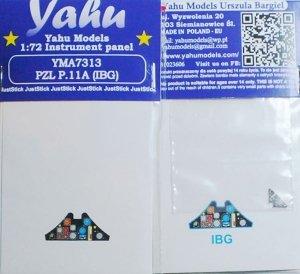Yahu YMA7313 PZL P.11A for IBG 1/72