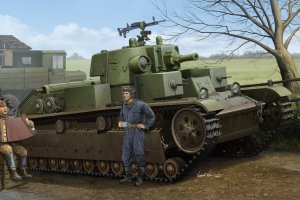Hobby Boss 83855 Soviet T-28 Medium Tank (Cone Turret) (1:35)
