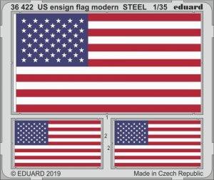 Eduard 36422 US ensign flag modern STEEL 1/35