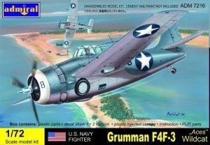Admiral ADM7216 F4F-3 Wildcat Aces (1:72)