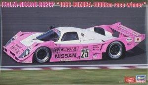 Hasegawa 20474 Italiya Nissan R92CP `1993 Suzuka 1000km Race Winner` 1/24