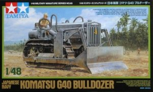 Tamiya 32565 Japanese Navy IIWW Komatsu G40 Bulldozer (1:48)