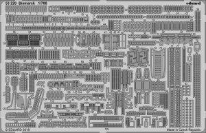 Eduard 53220 Bismarck MENG 1/700