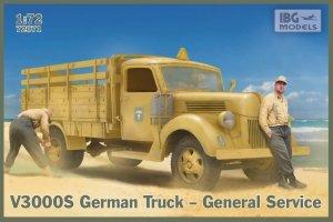 IBG 72071 V3000S German Truck General Service 1/72