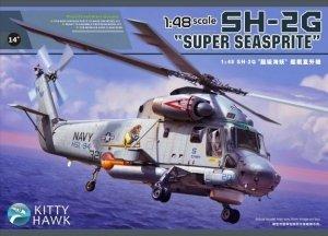 Kitty Hawk 80126 SH-2G Super Seasprite (polskie kalkomanie) 1/48