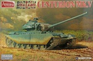 Amusing Hobby 35A028 Centurion MK 5 1/35