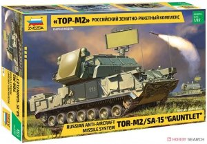 Zvezda 3633 Russian Air Defense Missile System TOR-M2/SA-15 Gauntlet 1/35
