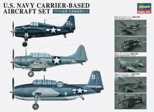 Hasegawa QG47 (72147) U.S. Navy Carrier-Based Aircraft Set 1/350