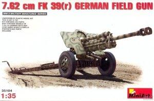 MiniArt 35104 7,62 cm F.K. 39 German Field Gun