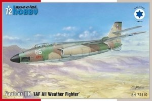 Special Hobby 72410 Vautour IIN IAF All Weather Fighter 1/72