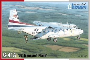 Special Hobby 72385 C-41A 'US Transport Plane' 1/72
