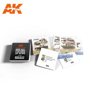 AK Interactive RC700 REAL COLORS COASTERS