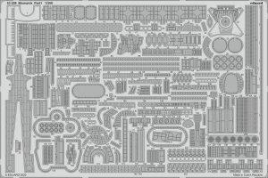 Eduard 53259 Bismarck part 1 1/350 TRUMPETER
