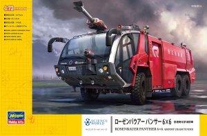 Hasegawa SW05 ROSENBAUER PANTHER 6×6 AIRPORT CRASH TENDER 1/72
