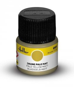 Heller 9081 081 Pale Yellow - Matt 12ml