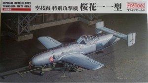 Fine Molds FB15 IJN Yokosuka MXY7 Ohka Kamikaze Flying Bomb 1/48