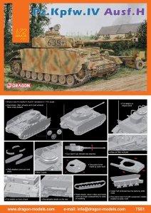 Dragon 7551 Pz.Kpfw.IV Ausf.H (1:72)