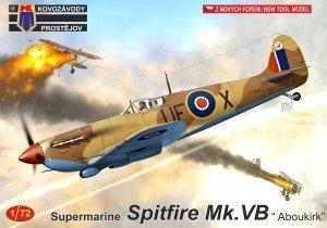 """Kovozavody Prostejov KPM0257 Spitfire Mk.VB """"Aboukir"""" 1/72"""