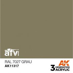 AK-Interactive AK 11317 RAL 7027 Grau 17ml