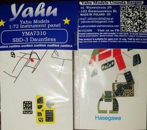 Yahu YMA7310 SBD Dauntless/ Hasegawa 1/72