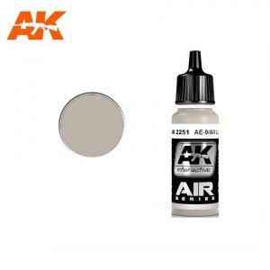 AK Interactive AK 2251 AE-9/AII LIGHT GREY 17ml