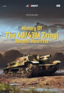 Kagero 88008 History of the 40/43M Zrínyi Assault Howitzer EN