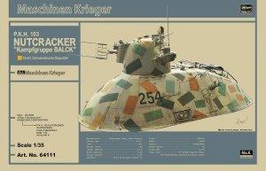 Hasegawa 64111 P.K.H. Nutcracker Maschinen Krieger Limited Edition (1:35)